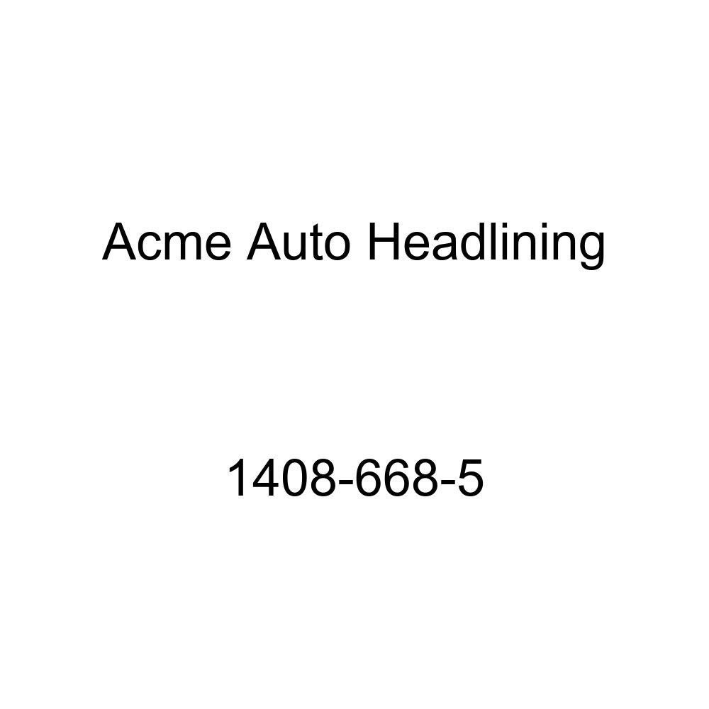 1937-38 Chevrolet Master 2 Door Business /& Sport Coupe 4 Bows Acme Auto Headlining 1408-668-5 Maroon Replacement Headliner