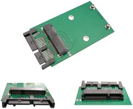Para convertir mSATA Mini PCIe 1,8 adaptador MicroSATA: Amazon.es ...