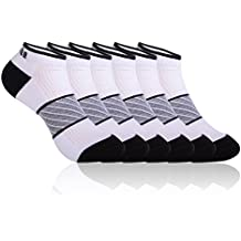Women's Athletic Socks Low Cut Cushioned Performance Running Ankle Sport 3/6 Pairs