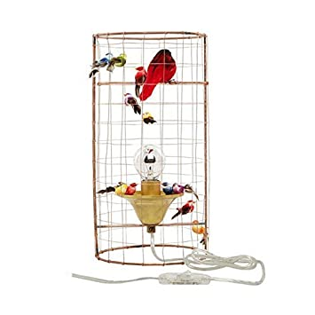Mathieu Challieres La Voliere Mini Bird Cage Table Lamp Amazon Co