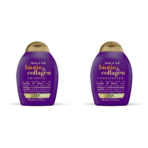 Ogx Biotin and Collagen Shampoo and Conditioner Set