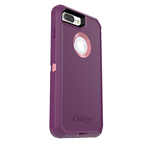 OtterBox DEFENDER SERIES Case for iPhone 7 Plus (ONLY) - Frustration Free Packaging - VINYASA (ROSMARINE/PLUM HAZE)