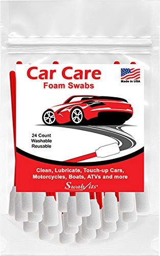 Swab-its 24-Piece Package of Auto Detailing Car Care Foam Swabs: 87-7904