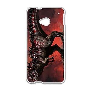 SVF Scary Creative Dinosaur Custom Protective Hard Phone Cae For HTC One M7