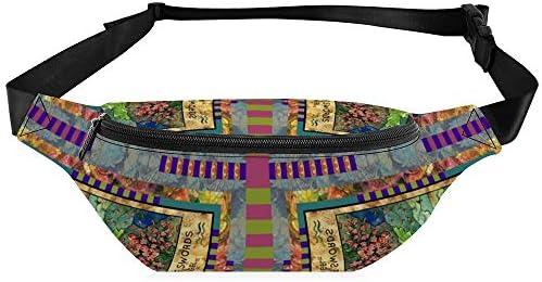 Tagsパネル小阿五剣天使カードあの 女性のウエストバッグpuショルダーバッグ防水性と耐久性のある調整可能なメンズウエストバッグ