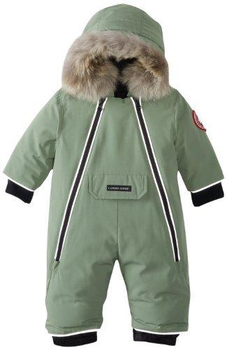 Canada Goose Baby Lamb Snowsuit, Arctic Tundra, 0-3 Color ...