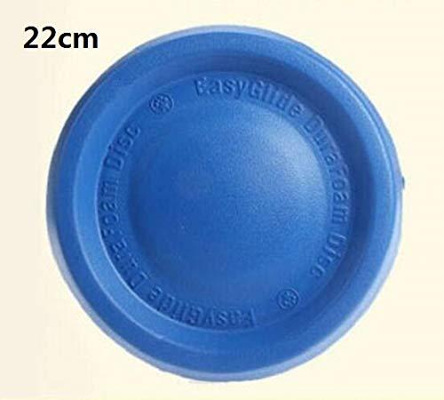 SKNSM Creativo Disco Circolare per Cani Frisbee Volante Disco per Cani da Compagnia (Circa 24 cm Blu)
