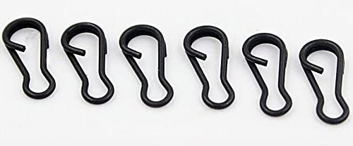 Details about  /30pc GREEN Carp Fishing Tackle safety lead clips,cones quick change swivels Rigs