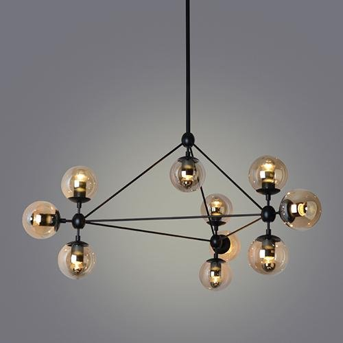 LightInTheBox Pendant Lights , 10 Light , Simple Modern Artistic MS-86526, Modern Home Ceiling Light Fixture Flush Mount, Pendant Light Chandeliers Lighting, Voltage=110-120V by LightInTheBox