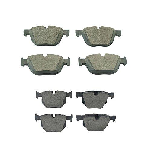 Front & Rear Premium Posi Ceramic Disc Brake Pad Kit Set for BMW X5 X6