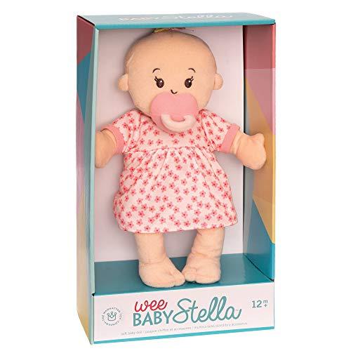 "41y kpRCK8L - Manhattan Toy Wee Baby Stella Peach 12"" Soft Baby Doll"
