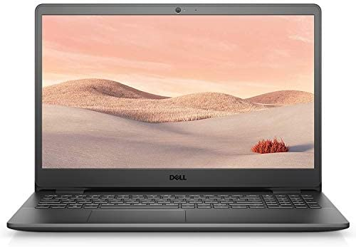 "Dell Inspiron 15 3000 Laptop (2021 Latest Model), 15.6"" HD Display, Intel N4020 Dual-Core Processor, 8GB RAM, 256GB SSD, Webcam, HDMI, Bluetooth, Wi-Fi, Black, Windows 10"