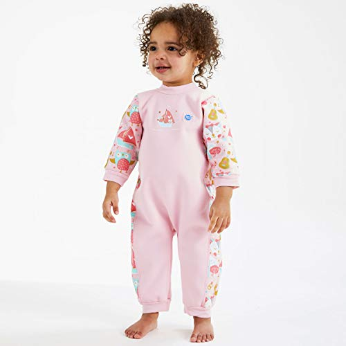 fad69c6801ad3 Amazon.com: Splash About Warm in One Baby Wetsuit (Medium (3-6 Months),  Pink Blossom): Clothing