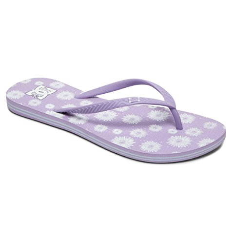 Tongs Sndl Lilac Violet Femme Dc Shoes Graffik J Spray zqCnfxwS
