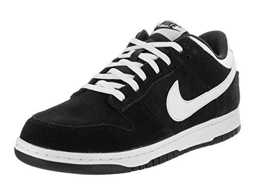Nike Skateboard Dunks (Nike Men's Dunk Low Pro Black/White Skate Shoe 13 Men US)