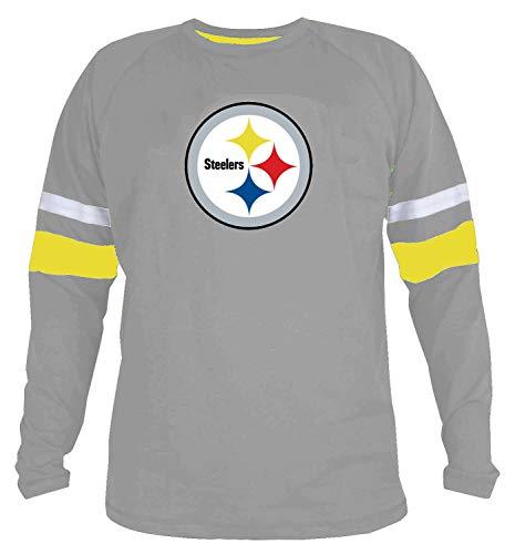 GuAiRo Mens Smart Steelers Soft Sport Fitness T-Shirt (XL)
