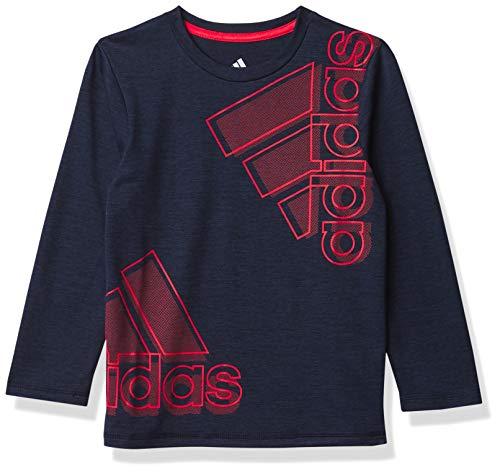 adidas Boys' Stay Dry Moisture-Wicking Aeroready Long Sleeve T-Shirt 1