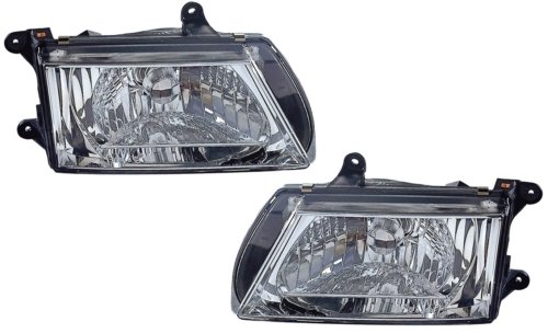 Isuzu Rodeo Headlamp - Isuzu Rodeo Replacement Headlight Assembly - 1-Pair