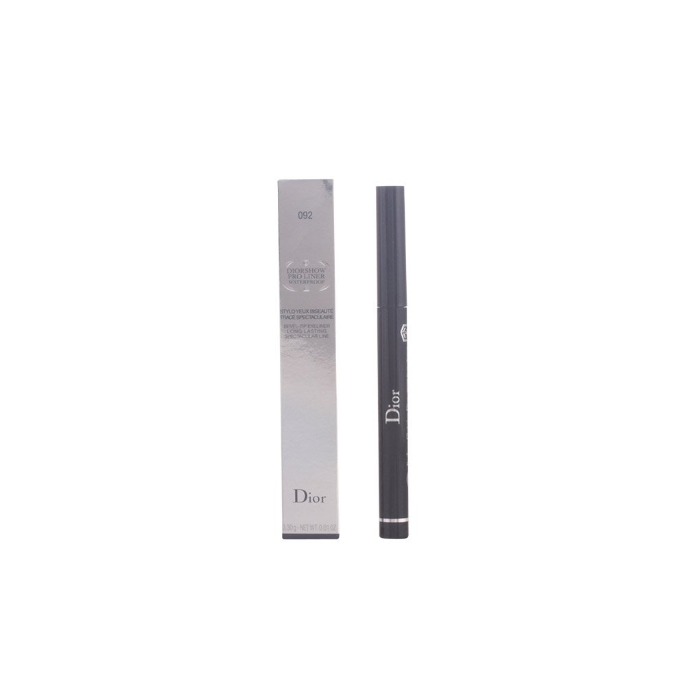 Christian Diorshow Pro Liner Waterproof Bevel Tip Eyeliner # 092 Pro Black for Women, 0.01 Ounce 846-77535092