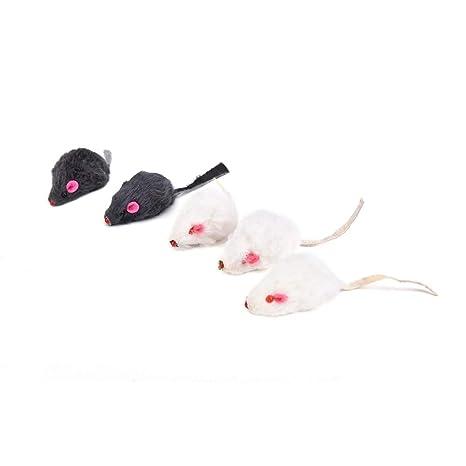 Amazon.com: Katten Speelgoed - Mini Pet Cats Bright Colored Little Animation Mouse Mice Toys Randomly Gatos Jouet Chat Juguetes - Pc Pet Wireless Cat Tower ...
