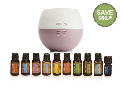 dōTERRA® Home Essentials Kit Package with Diffuser