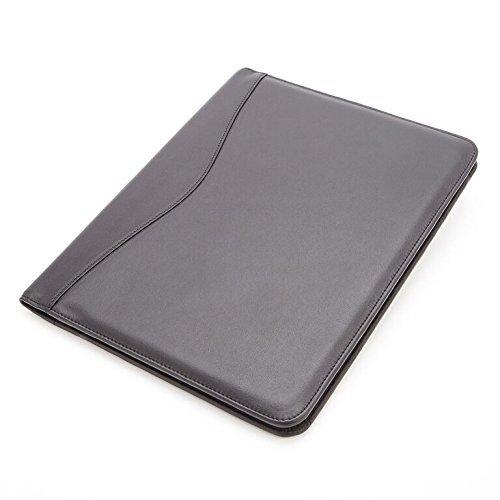 royce-leather-executive-writing-padfolio-document-organizer-matte-black