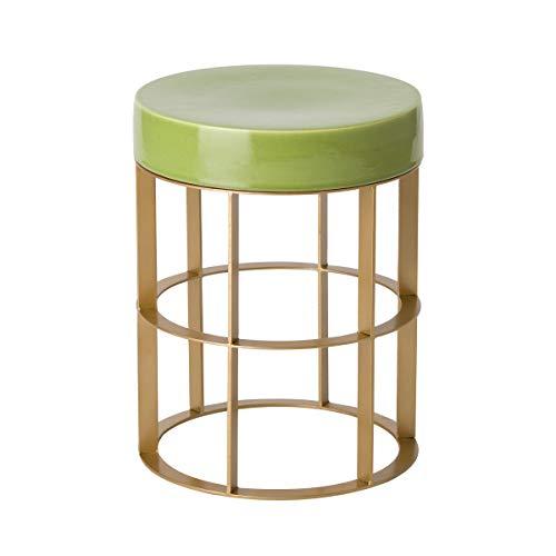Emissary Home & Garden 2514GD/AG Stool/Table, Gold