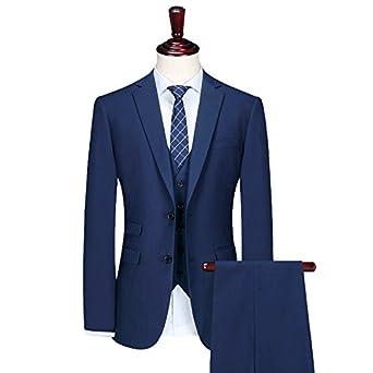 Amazon.com: qieke Hombres Trajes Trajes de negocios boda ...