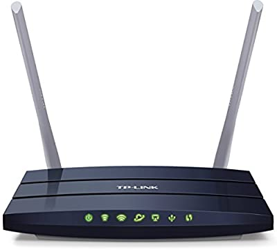 TP-Link Archer AC1200 Reliable Dual-band WiFi Router (C50)(Certified Refurbished) by TP-LINK