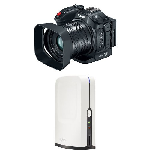 Canon XC15 Professional Camcorder with HD Video Switcher for Multi-Camera Production, and Live Streaming