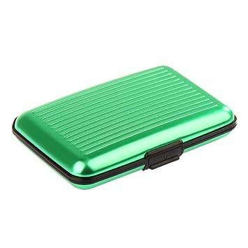 Venta al por mayor - Anti-robo de la tarjeta de crédito de aluminio de tarjeta de bolsillo casos titular de la tarjeta bancaria caja de aluminio ...