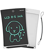 NEWYES LCD schrijftablet, 8.5 inch tekentablet uitwisbaar draagbare teken mini boord kind speelgoed verjaardag geschenk leren hulpmiddel voor jongens meisjes (wit)