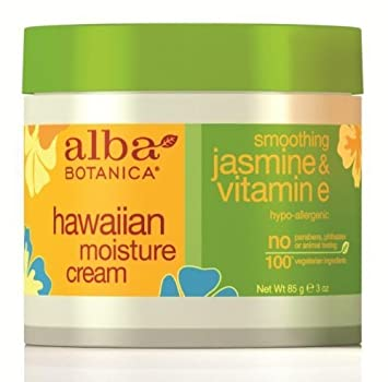 Alba Botanica Hawaiian Moisture Cream, Jasmine & Vitamin E, 3 oz (Pack of 3) Ginseno:Soo Waterful Bounce Toner 4.4oz
