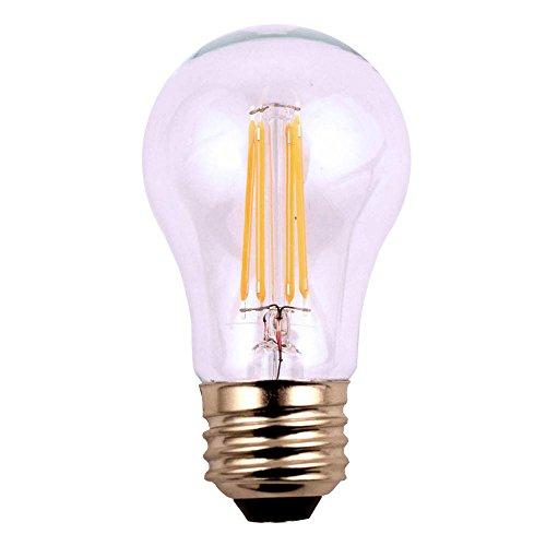 (HC Lighting - 12V Low Voltage Input Clear A15 Decorative Style LED Light Bulb 3.5W Medium Standard E26 Screw Base Retro Fit Light Bulb (3.5 Watt) (6/PK) (A15)