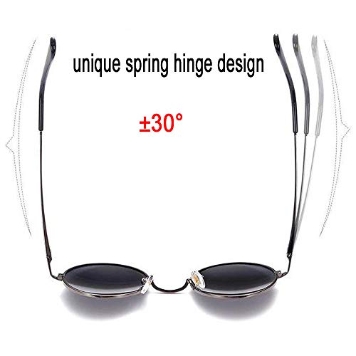 98f1395e794 Feidu-men Round Retro Polarized Sunglasses Women Vintage Sunglasses Fd3013  (Blackblack
