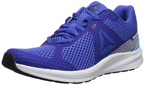 Reebok Women's Endless Road Running Shoe, Crushed Cobalt/Sky Blue/White/Solar Gold/Collegiate Navy, 12 M US
