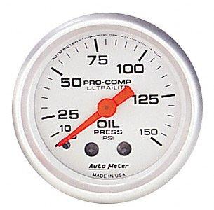 Autometer 4321 Ultra Lite Series Oil Pressure Gauges AUTO METER