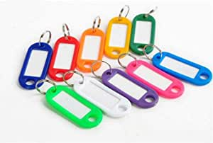 ECOPLAST Reusable Lightweight Key Tag with a Ring