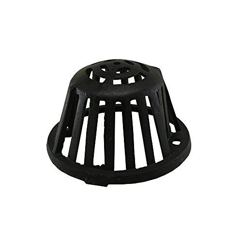 Roof Drain - Jones Stephens, JS Cast Iron Dome for Roof Drains - R18020