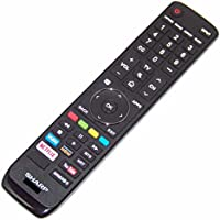 OEM Sharp Remote Control Originally Shipped With LC65P620U, LC-65P620U, LC65P8000U, LC-65P8000U