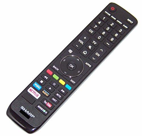 OEM Sharp Remote Control Originally Shipped With LC55P7000U, LC-55P7000U, LC55P8000U, LC-55P8000U, LC65P6000U, LC-65P6000U -  GenuineOEMSharp