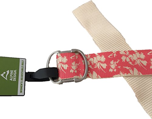 - Alpine Design Women's Adjustable Belt - Sunkist Coral, One Size