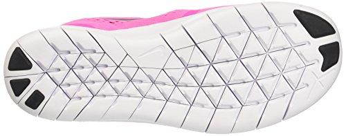 NikeFree Rn Gs - Zapatillas de entrenamiento Niñas Rosa (Rosa (Pnk Blast / Mtllc Slvr-White-Blk))