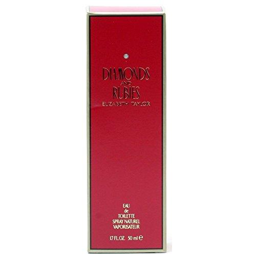 Diamonds & Rubies For Women Vanilla Eau De Toilette - Diamonds & Rubies By Elizabeth Taylor 1.7 oz Eau De Toilette Spray for Women