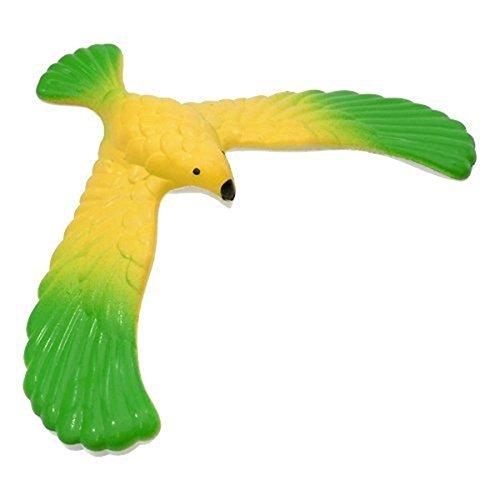 Pixnor águila Equilibrio de pájaro águila equilibrio mágico con pirámide Stand para niños (Color al azar)