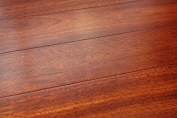 5 Inch Greenland Solid Hardwood Brazilian Cherry (Jatoba) Natural Flooring  (8 Inch Sample