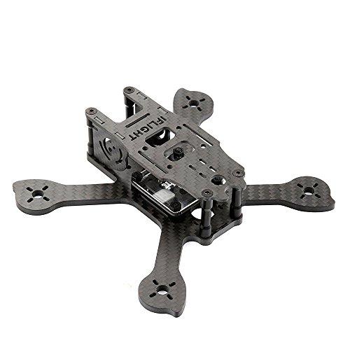 O'woda RACER iX3 V2 140mm 3K Cabon Fiber Quadcopter Frame 4mm Stretch X Arms for FPV RC Drone Quadcopter DIY Kit (Non-assembled) by iFlight