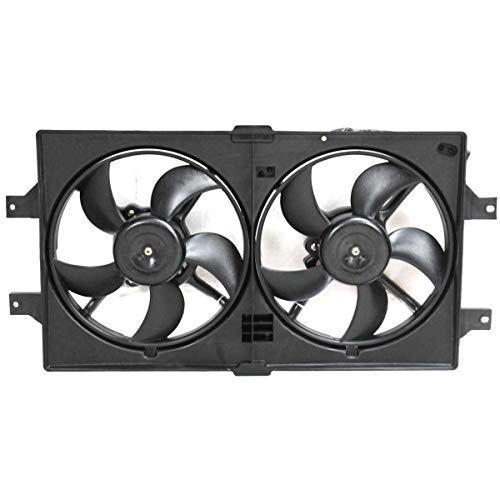 New Radiator Fan Assembly For 1998-2004 Dodge Intrepid And Chrysler Concorde Dual Fan, Stamped Nmc/Nmd/Nms CH3115103 ()