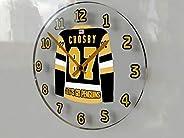 FanPlastic Sidney Crosby 87 Pittsburgh Penguins Wall Clock - Canadian Hockey League Legends Edition !!