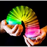 Gwill Rainbow Magic Spring, Rainbow Spring Slinky Toy Circles Slinky Rainbow for Children Toys Party Favors
